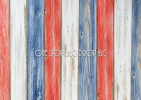 Red White & Blue Wood 2