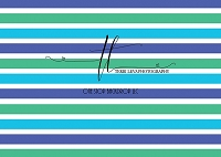 Stripes Blue Green