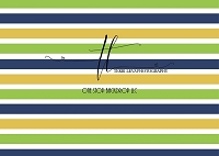 Stripes Blue Green Yellow