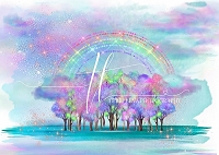 Unicorn Land Rainbow