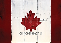 Canada Flag Wooden Boards 1