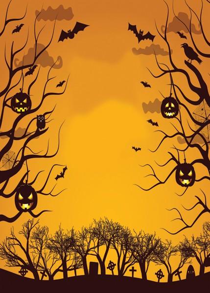 halloween backdrop - Halloween Backdrop