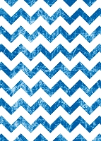 Blue Grunge Chevron