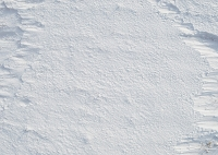 Snow Photo Floor