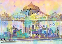 colorful carousel 1