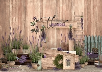 Lavender Stand