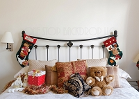 Holiday Headboard 1