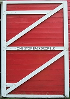 Barn Door Red  Verticle
