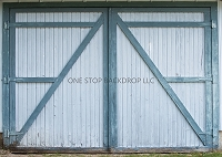 Barn Door Blue
