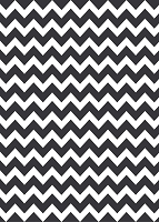Chevron 7 Black