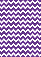 Chevron 8 Purple