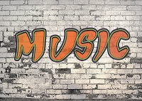 Graffiti Brick Music 1