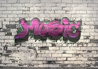 Graffiti Brick Music 4