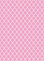 Pink Quarterfoil Backdrop