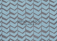 Blue Gray Chevron