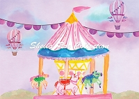 Watercolor Circus 2