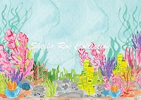 Under the Sea Watercolor