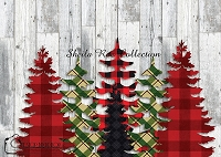 Christmas Tree Plaid  2