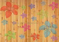 Floral Bamboo