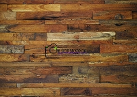 Staggered Wood 9