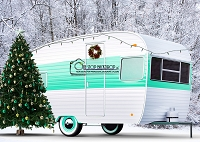 Christmas Camper Mint