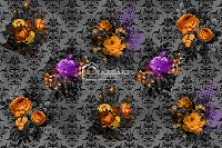 Halloween Floral 1