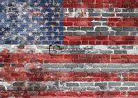 Grungy Brick Flag 3