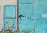 Old Blue Doors