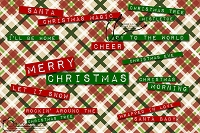 Merry Christmas word art 2