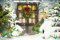 Welcome Christmas door 2
