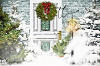 Welcome Christmas door 4