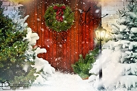 Welcome Christmas door 5