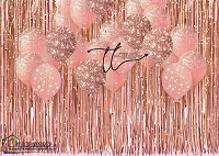 Tinsel Party rose gold