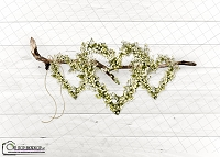 Hanging Floral Hearts 1