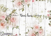 Whitewashed Wood Floral boards 3