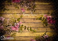 Dark Wood Floral Boards 2