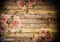 Dark Wood Floral Boards 3