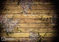 Dark Wood Floral Boards 4