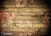 Dark Wood Floral Boards 5