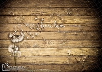 Dark Wood Floral Boards 6
