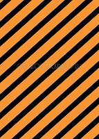 Orange and Black Stripes