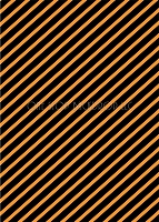 Orange and Black Stripes 2