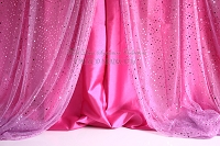 Pink Curtains 3
