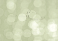 soft bubble bokeh - sage green