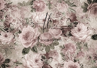 Vintage roses - light dusty rose