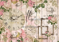 Tea Time - Pink Wood