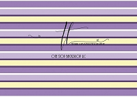 STRIPES Lavender Cream