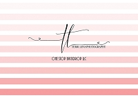 Ombre border stripes pink