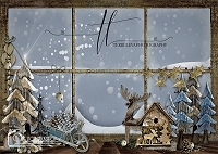 Whimsical Holiday Window 3