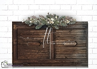 wood door headboard 1